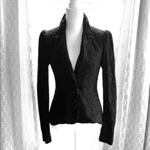 Betsey Johnson Lace Blazer